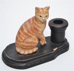 """Подсвечник """"Кошка""""13х17см"""